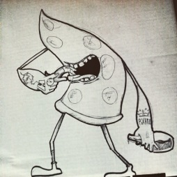 Pizza Capitalista boceto